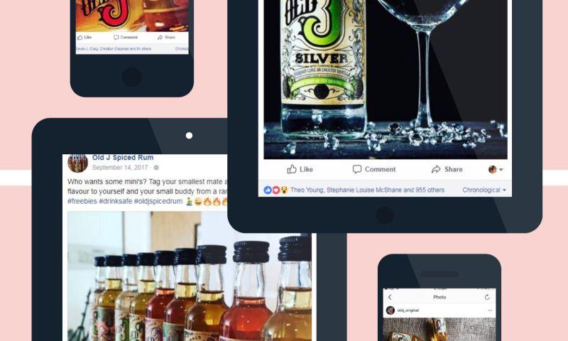 Hasha Tech - Old J Rum Brand Development