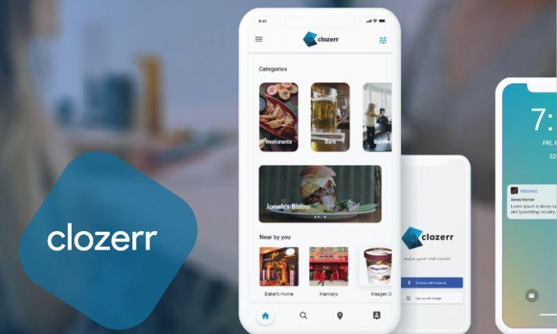 RootQuotient - Clozerr | Mobile & Web Application