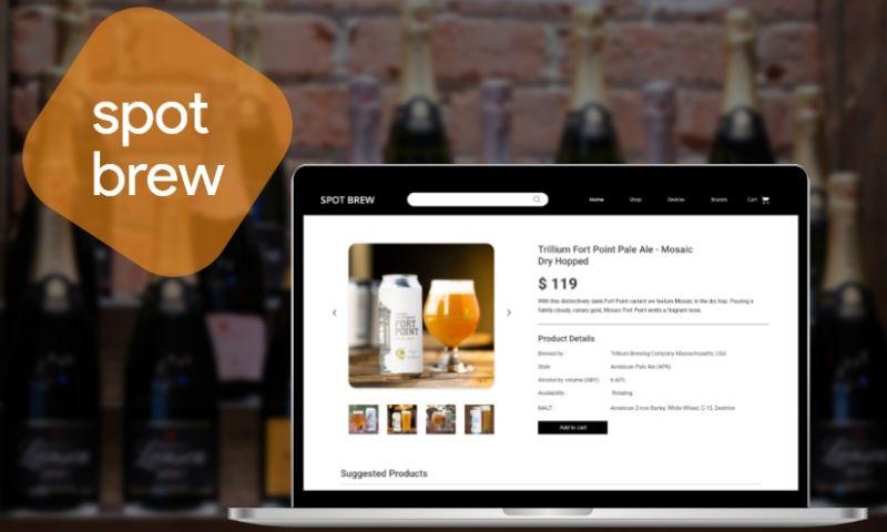 RootQuotient - Spot Brew | eCommerce - Web Application