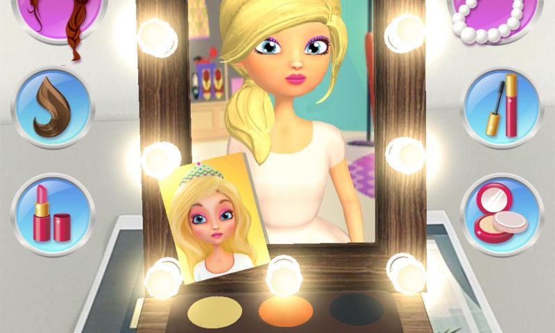 Live Animations - AR Style Beautiful Girl