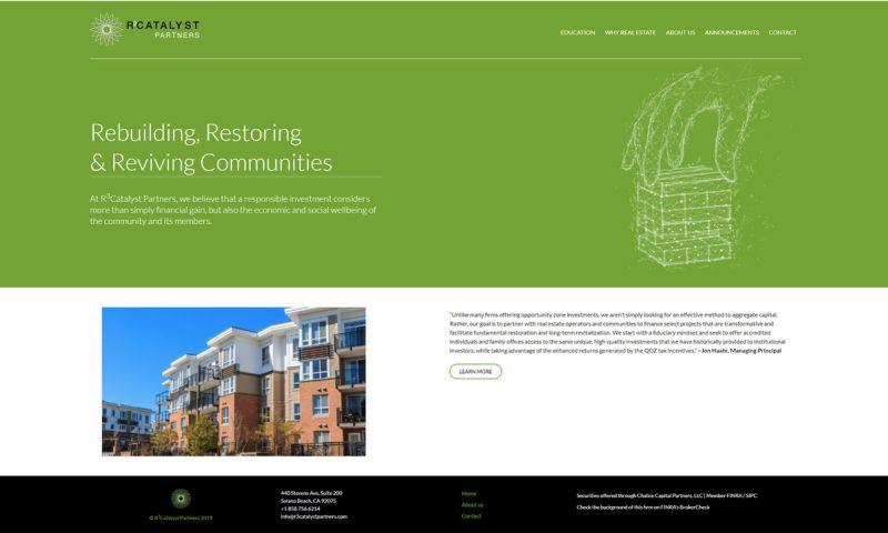 Minerva Web Development - R3Catalyst Partners | WordPress