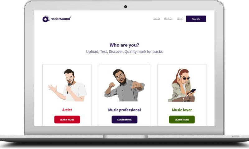 SpdLoad - Noticesound is SaaS Software for musical startup