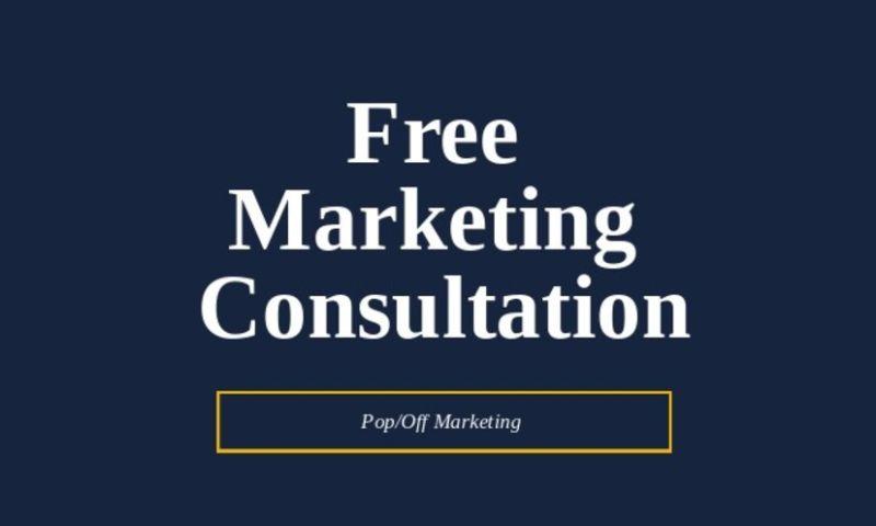 PopOff Marketing - Free Marketing Consultation