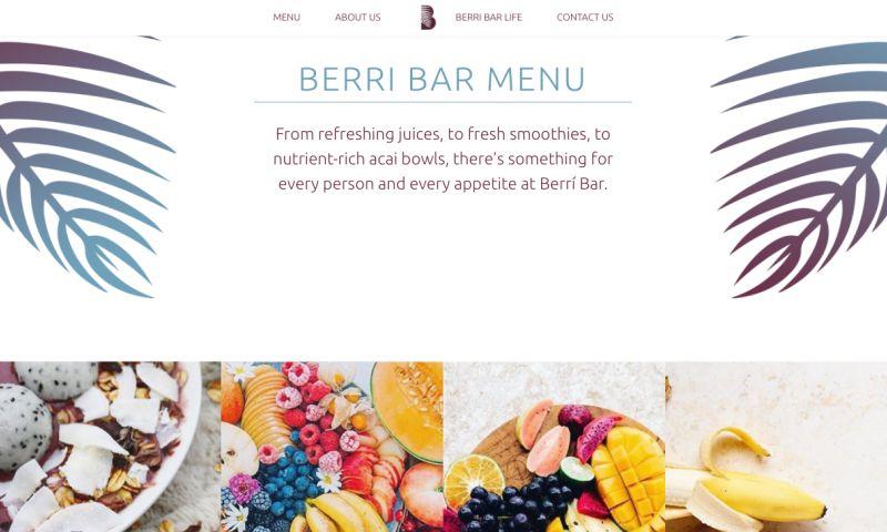 TowerHouse Studio - BerriBar- Wordpress site and design