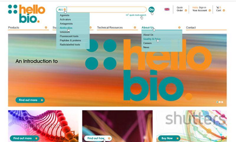 WEB4PRO - Hello Bio