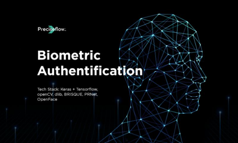 Preciseflow - Cross-platform Biometric Authentication Solution for secure access to sensitive data