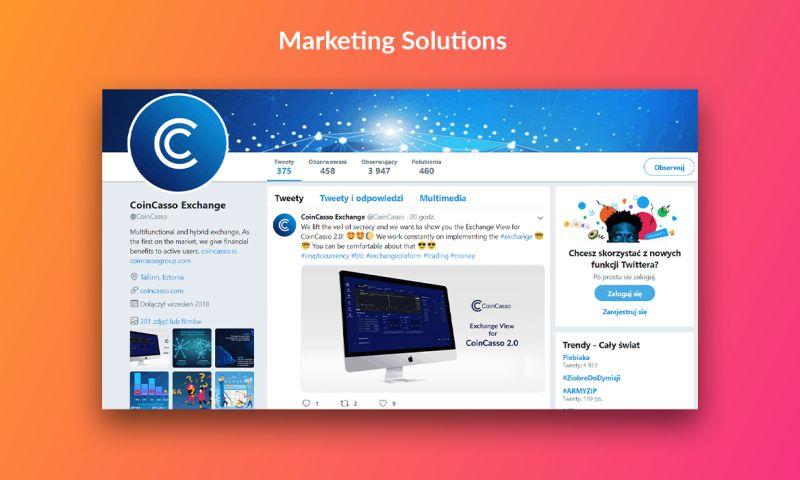 Try Codnet - CoinCasso - Marketing Solutions