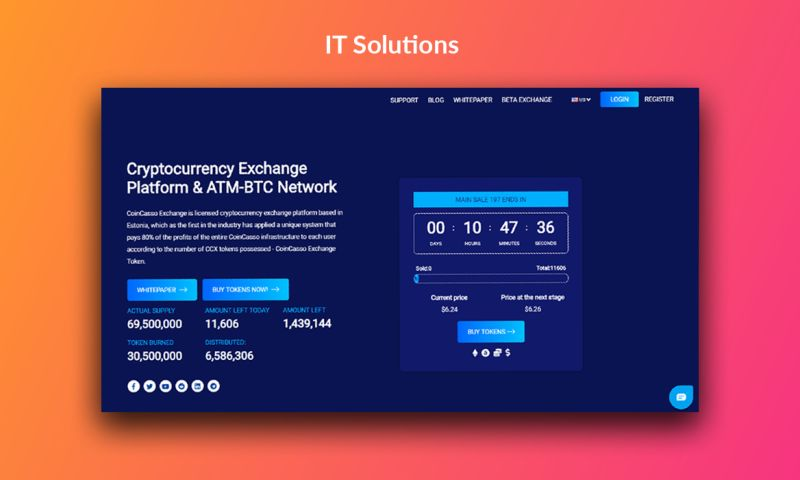 Try Codnet - CoinCasso - IT Solutions
