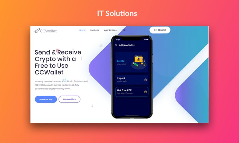 Try Codnet - CCWallet - IT Solutions