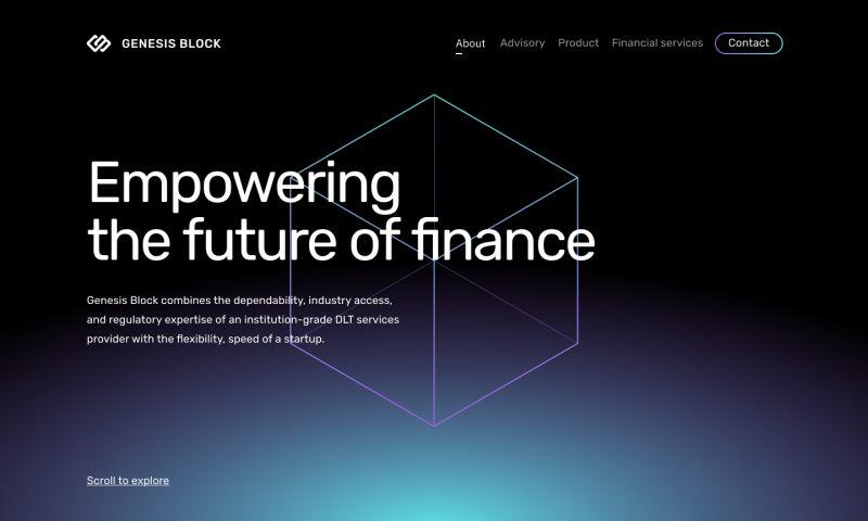 Evrone - Genesis Block
