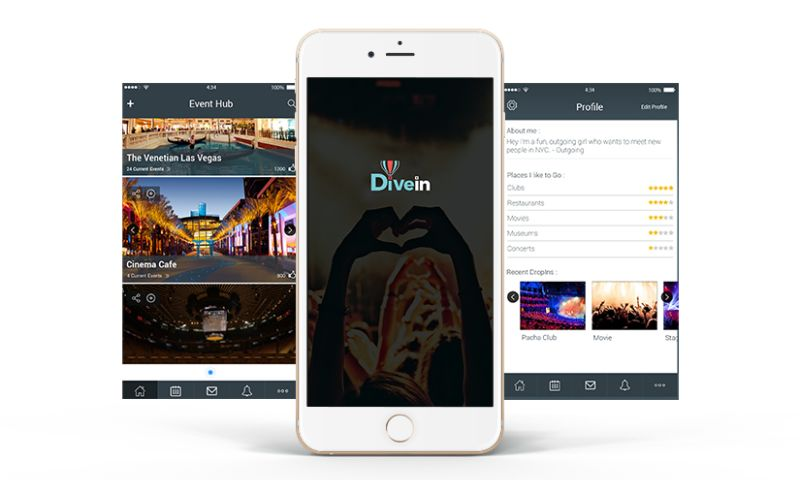 Biz4Solutions LLC - DiveIn – Social App