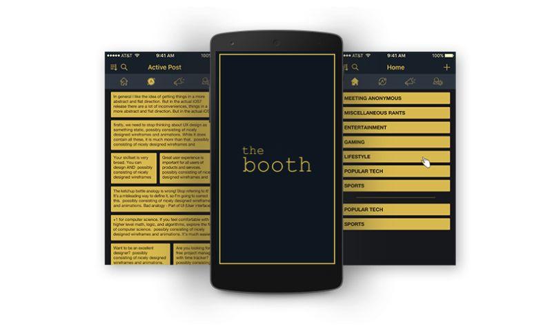 Biz4Solutions LLC - The Booth - Twitter Like Social App