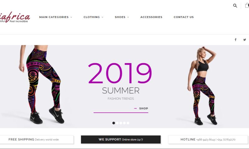 Codesmith Systems Limited - KiAfrica E-Commerce Website