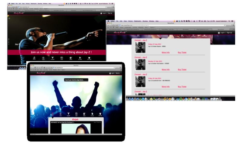 Biz4Solutions LLC - Fanfirst - Music Web Application