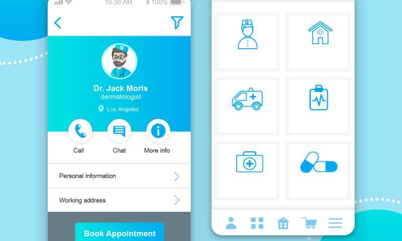 Excellent WebWorld - Design and Development of Online Doctor Appointment App