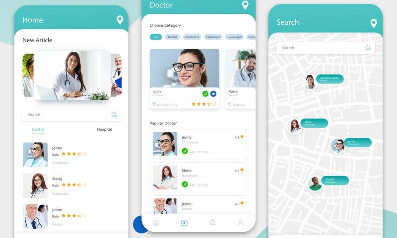 Excellent WebWorld - Top Doctor Mobile App Design & Development