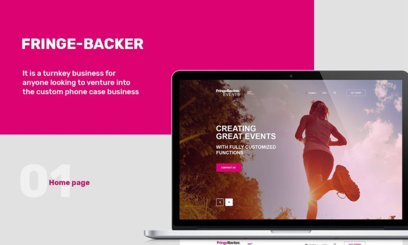 Webcapitan - Fringe-backer