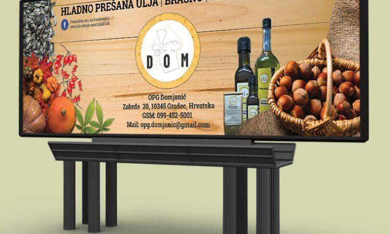 Direct Design - DOM - Cold pressed oil tradeshow