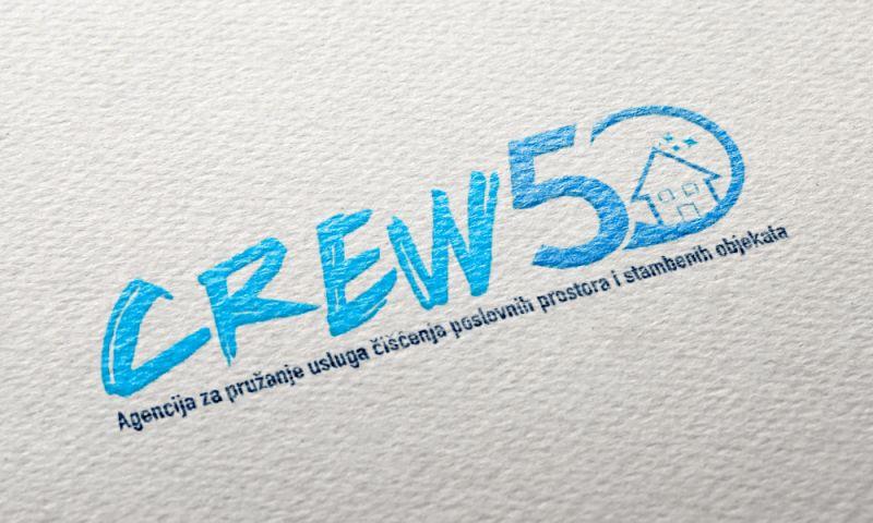 Direct Design - Crew50 logo design