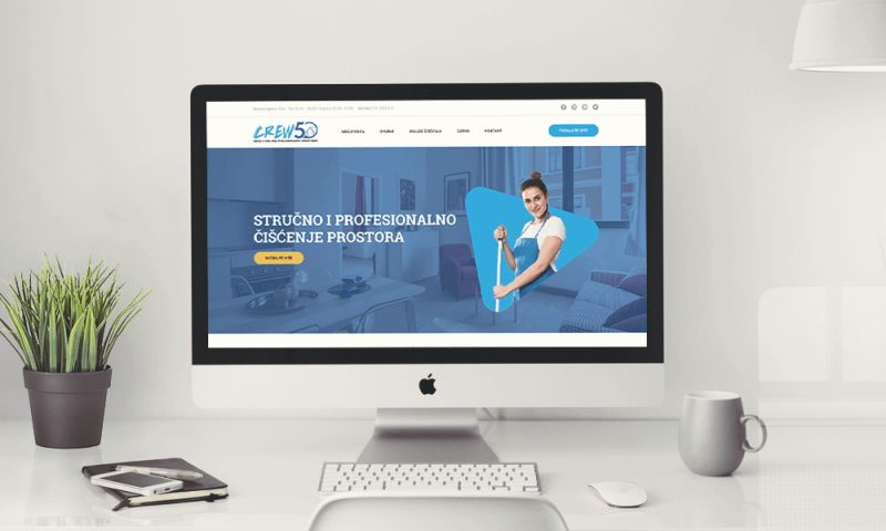Direct Design - Crew50 Web development