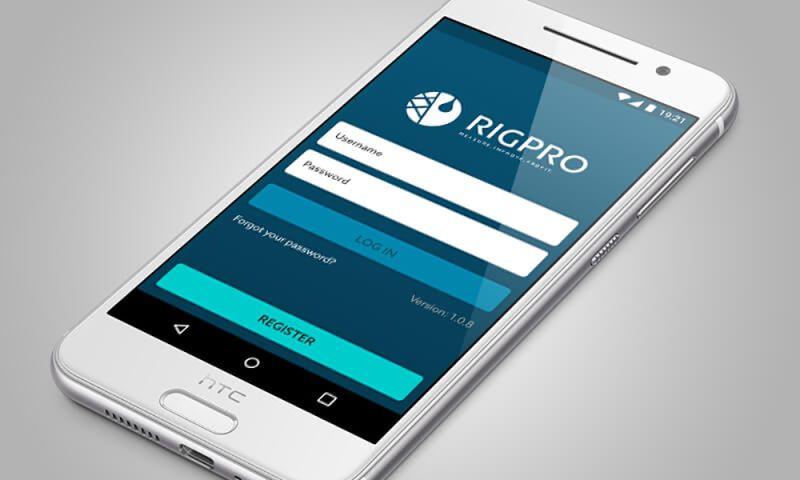 Direct Design - Rigpro Earth app design