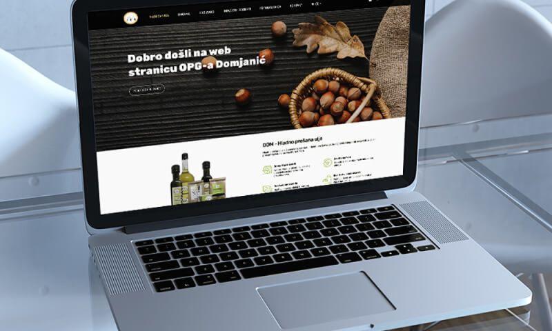Direct Design - OPG Domjanić webshop