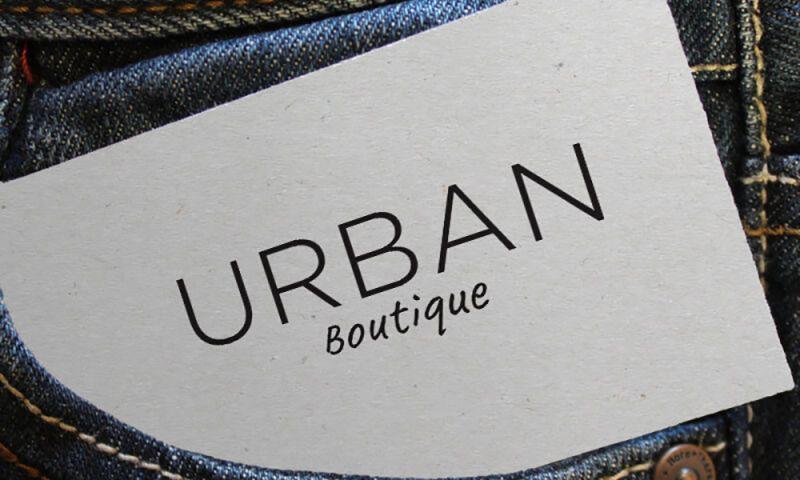 Direct Design - Urban Boutique logo design