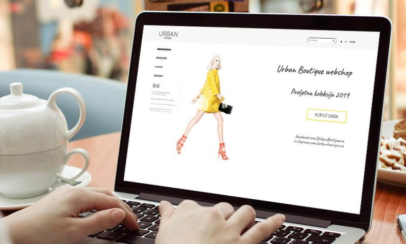 Direct Design - Urban Boutique webshop