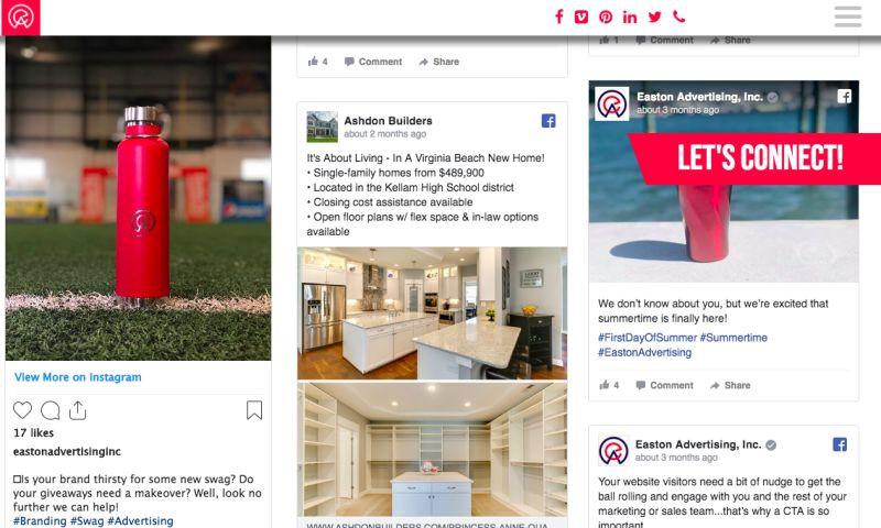 EASTON ADVERTISING - Social Media Marketing