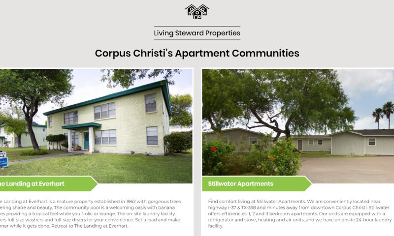 YellowFin Digital - Living Steward Apartments