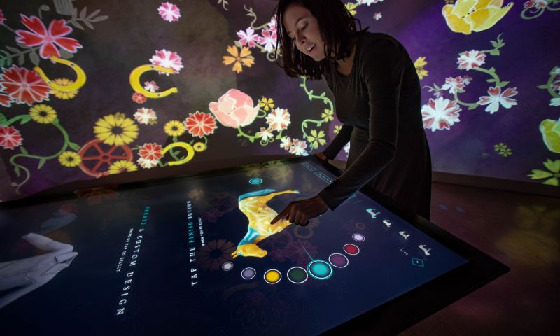 Ideum - Immersive Room and Media Stations