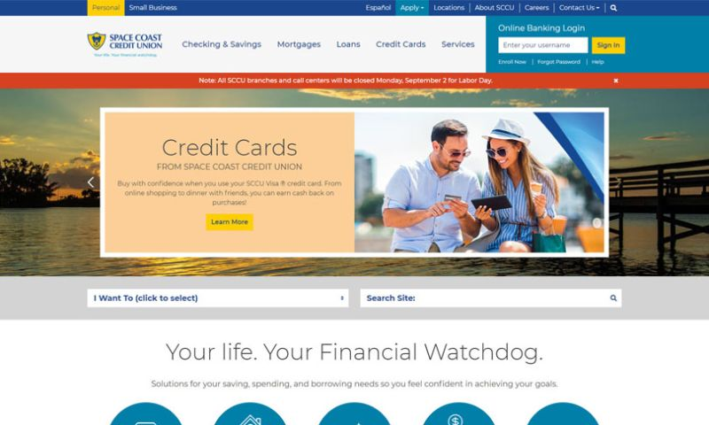Wakefly, Inc. - Space Coast Credit Union 3rd Party Integration