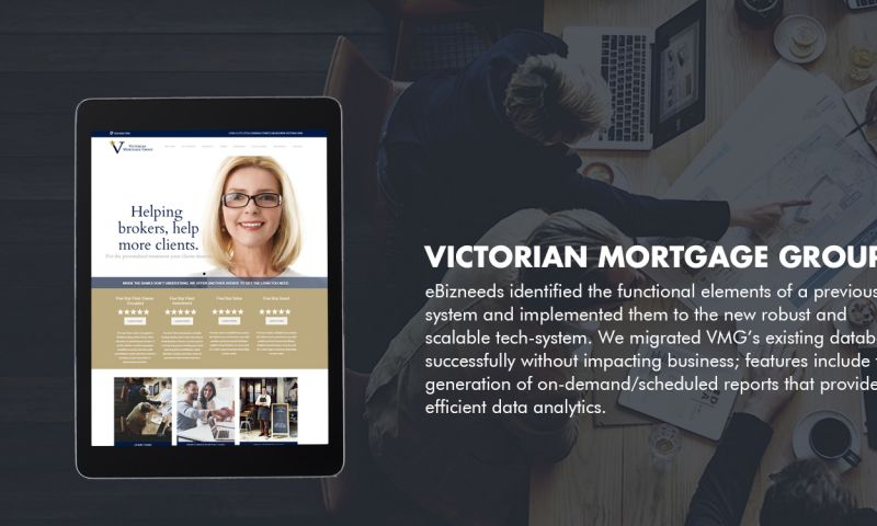 eBizneeds Business Solution Pvt. Ltd. - Victorian Mortgage Group (VMG)