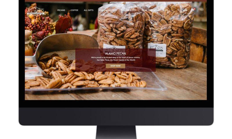 Living Proof Creative - Alamo Pecan B2B and B2C eCommerce Website