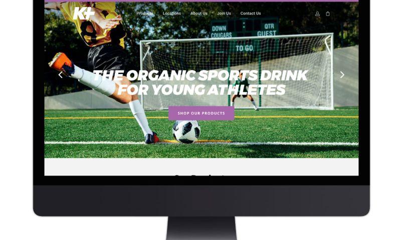 Living Proof Creative - K Plus Organics eCommerce Website