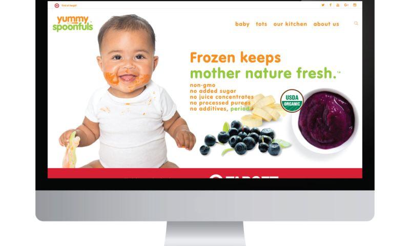 Living Proof Creative - Yummy Spoonfuls Website & Digital Marketing