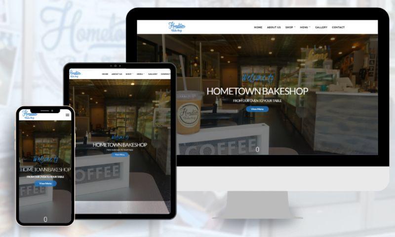 RBD Digital Marketing Agency - Hometown Bakeshop