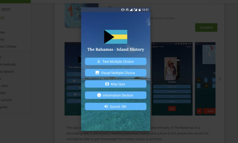 Ajasra Consulting and ICT Services - Bahamas - Island History