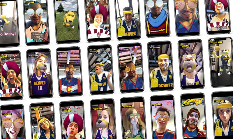 Groove Jones - Western Union is Using Social AR Filters at Pop-Up Events Throughout Denver