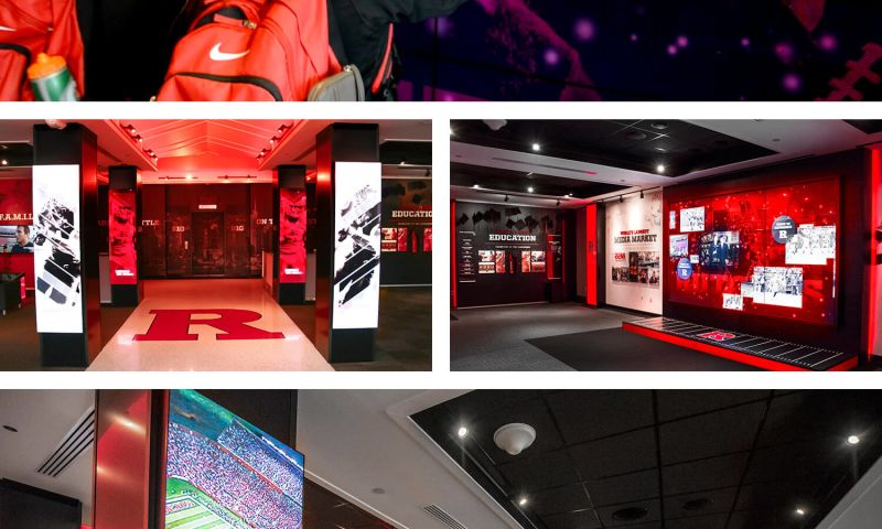 Red Minnow Interactive - Rutgers University Interactive Wall