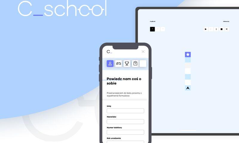 INVO Technologies - C_school - e-learning platform for programming school