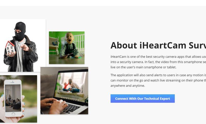 Space-O Canada - iHeartCam Survelliance App
