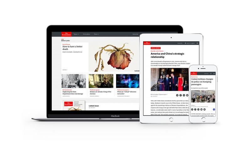 Edenspiekermann - The Economist website