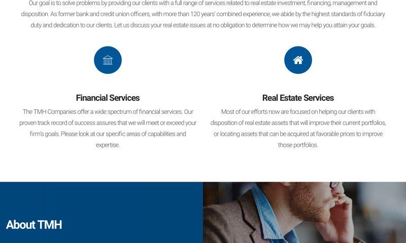FRW Studios - TMH Capital Website
