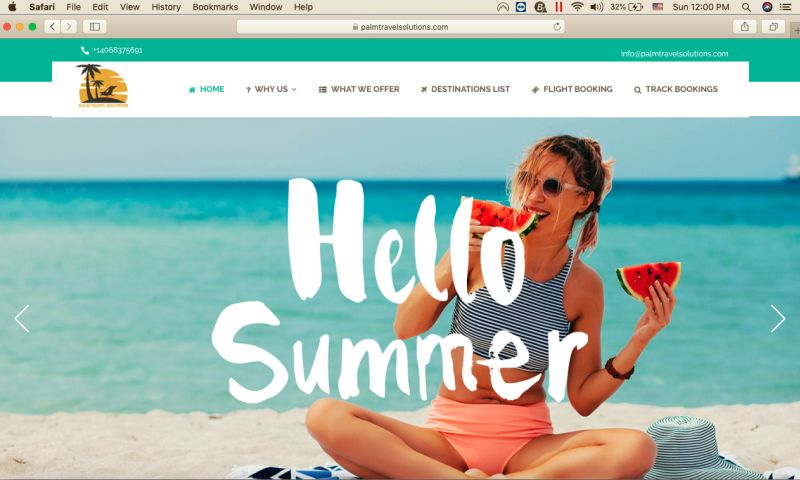 PivotWeb Incorporated - Travel & Tour Agency