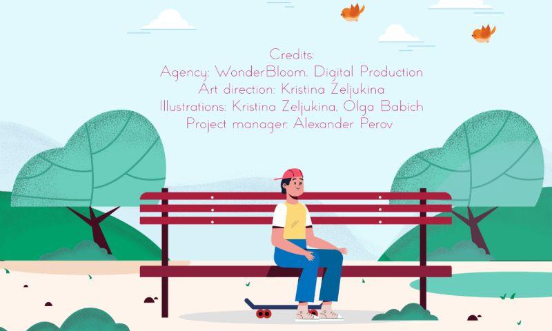 WonderBloomProduction - Illustrations for DEC camp