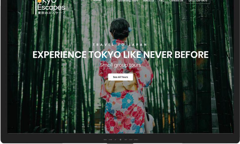 Mr. Website Designer - Tokyo Escapes