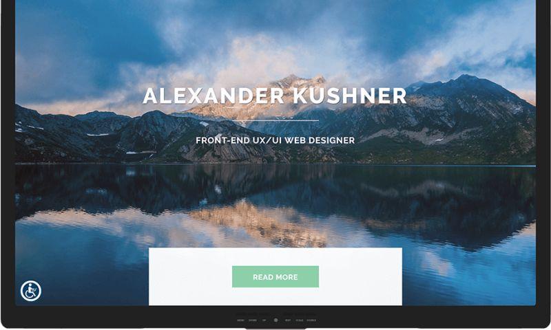 Mr. Website Designer - Alexander Kushner