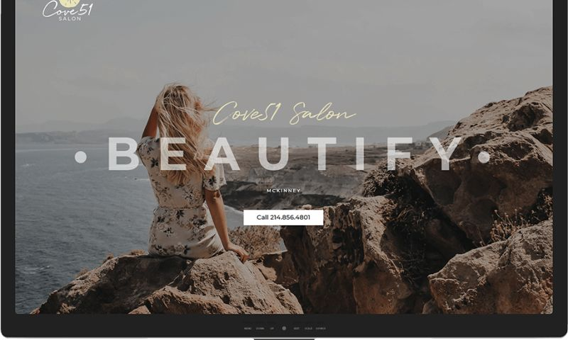 Mr. Website Designer - Cove51 Salon