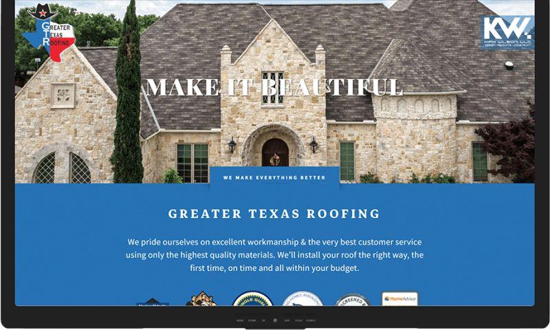 Mr. Website Designer - Greater Texas Roofing